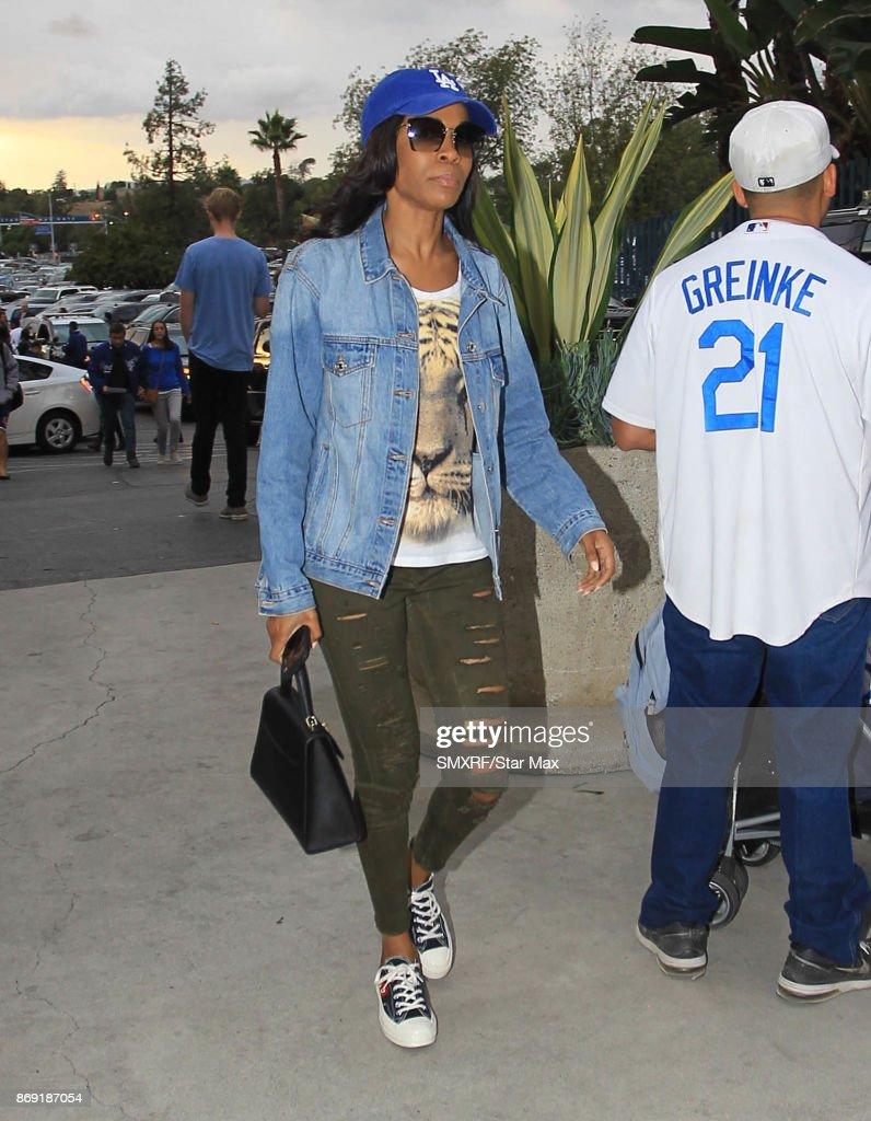 Celebrity Sightings In Los Angeles - November 1, 2017 : News Photo