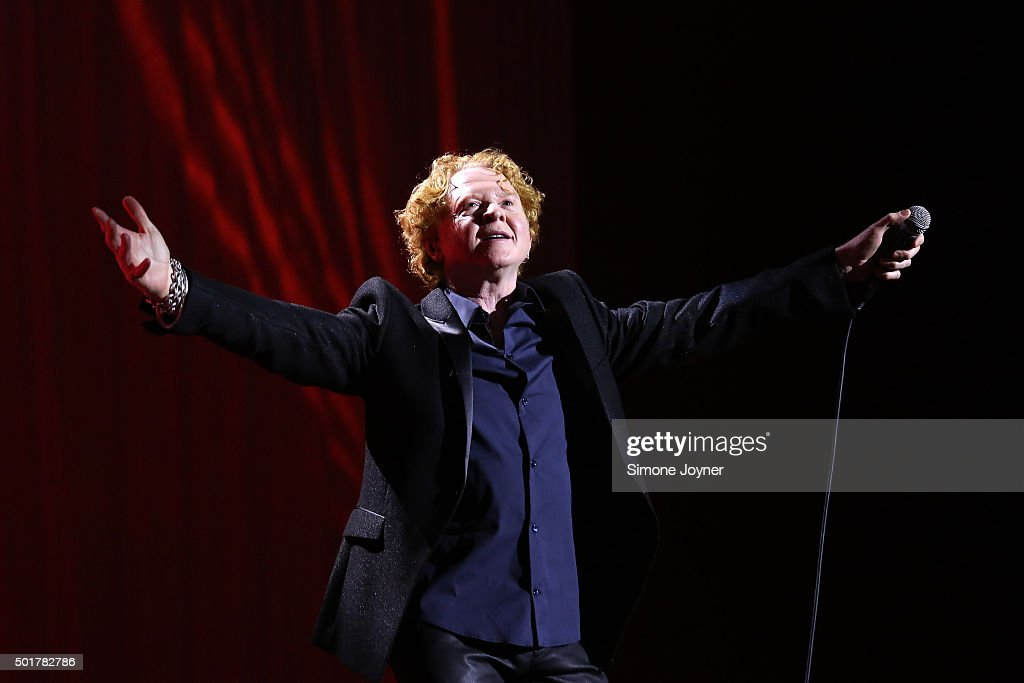 Simply Red Perform At The O2 Arena