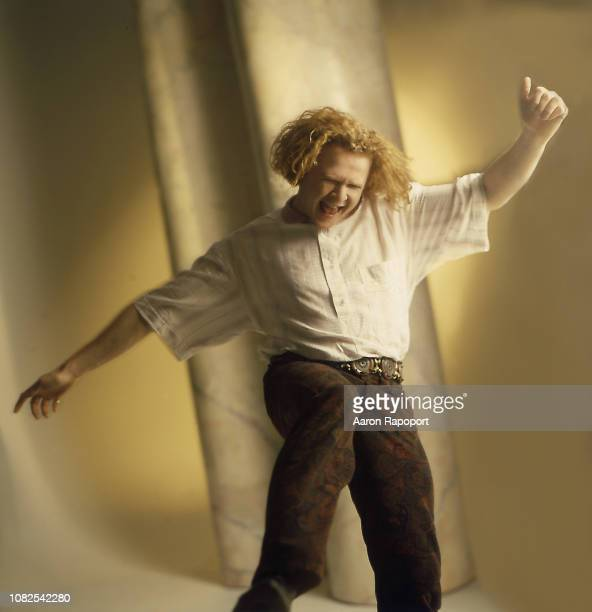 Singer Mick Hucknall of the group Simply Red poses for a portrait in Los Angeles California