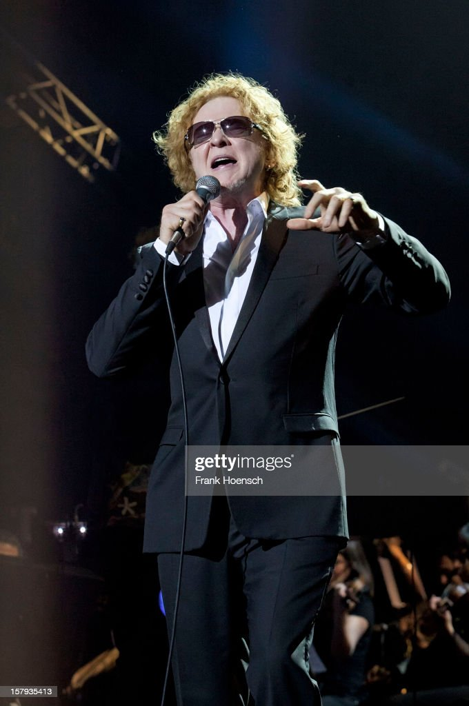 Singer Mick Hucknall performs live during AIDA Night Of The Proms at the O2 World on December 7, 2012 in Berlin, Germany.