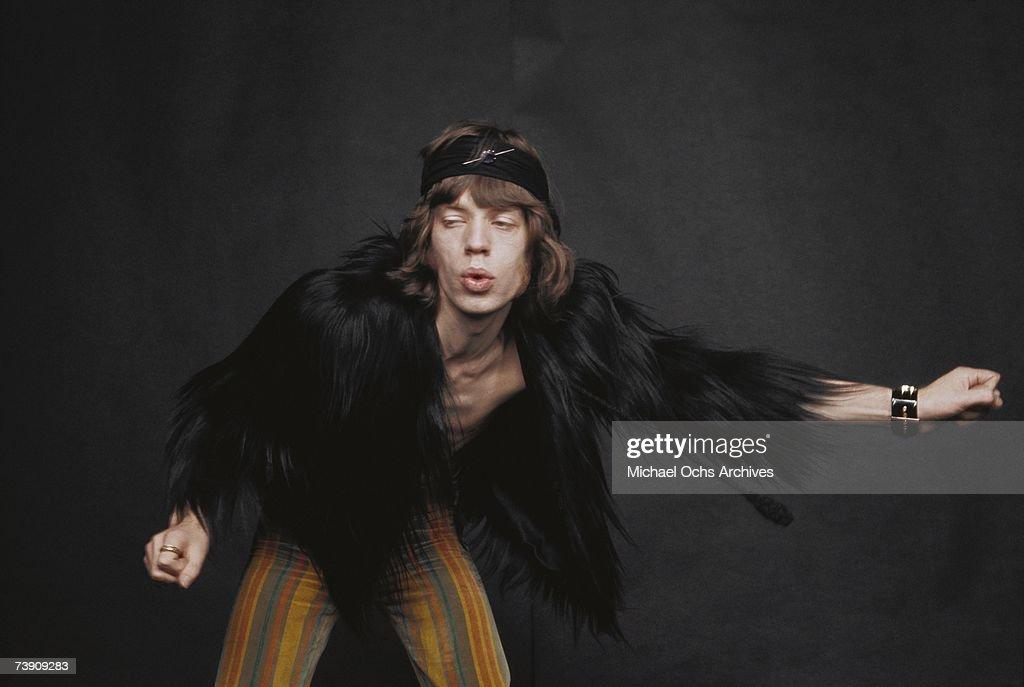 Rolling Stones Singer : News Photo