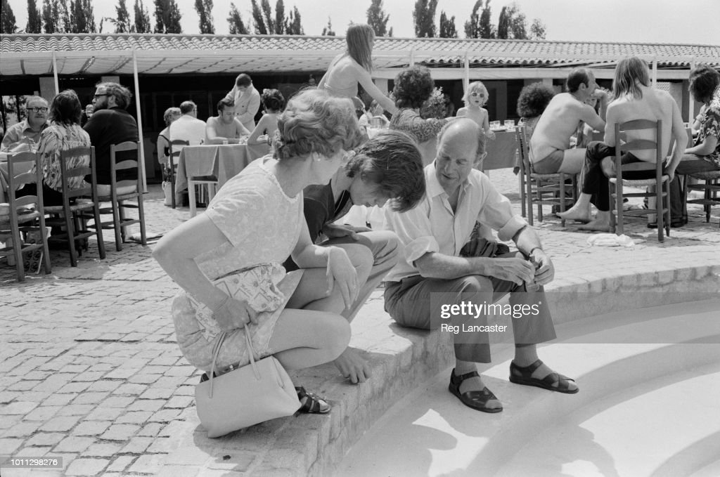 The Jaggers In St Tropez : News Photo