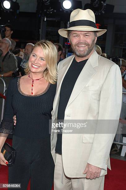Singer Mickey Dolenz and daughter Amy arrive at the premiere of Just Like Heaven held at Mann Grauman's Chinese Theatre