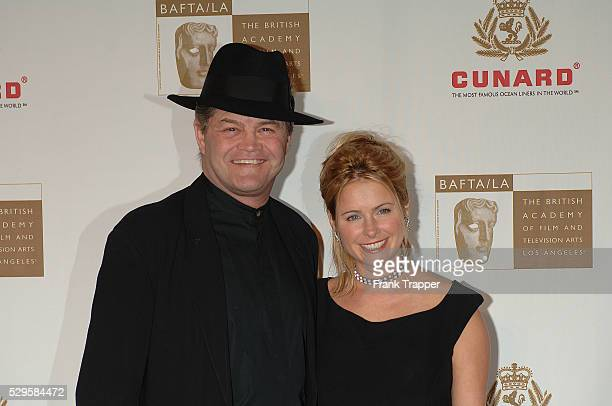 Singer Mickey Dolenz and daughter Amy at the 2005 BAFTA/LA Cunard Britannia Awards held at the Beverly Hilton Hotel