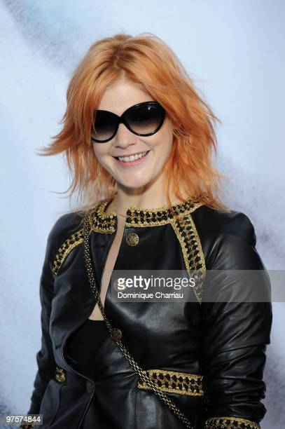 Singer Micky Green attends the Chanel Ready to Wear show as part of the Paris Womenswear Fashion Week Fall/Winter 2011 at Grand Palais on March 9...