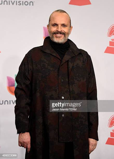 Singer Miguel Bose attends the 15th Annual Latin GRAMMY Awards at the MGM Grand Garden Arena on November 20 2014 in Las Vegas Nevada