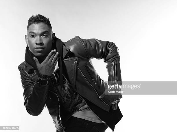 Singer Miguel is photographed for Rolling Out Magazine on March 31 2011 in New York City