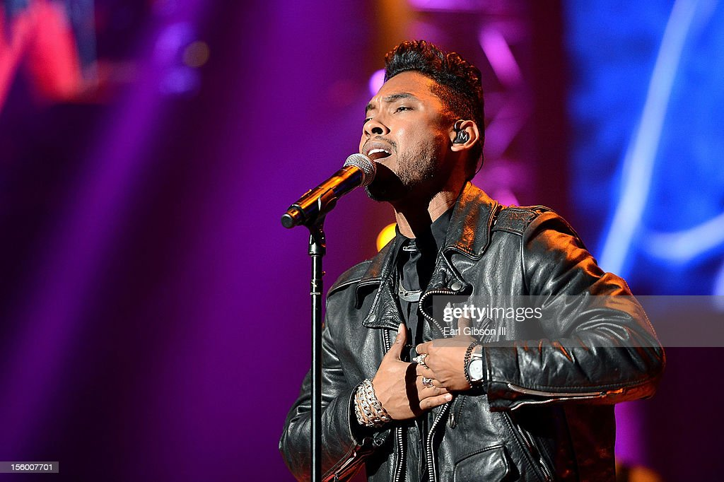 Singer Miguel performs at Soul Train Awards Weekend Live in Concert at PH Live at Planet Hollywood Resort & Casino on November 10, 2012 in Las Vegas, Nevada.