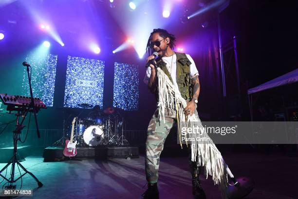 Singer Miguel performs onstage at AfroPunk Festival Atlanta at Mechanicsville on October 14 2017 in Atlanta Georgia