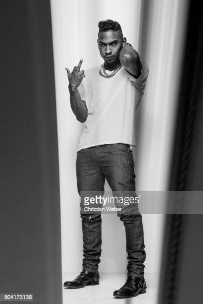 Singer Miguel photographed on March 15 in Los Angeles California