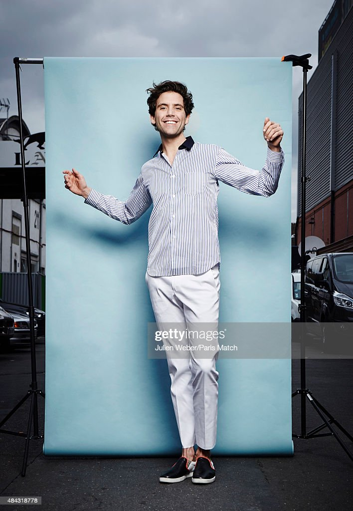 Mika, Paris Match Issue 3456, August 19, 2015