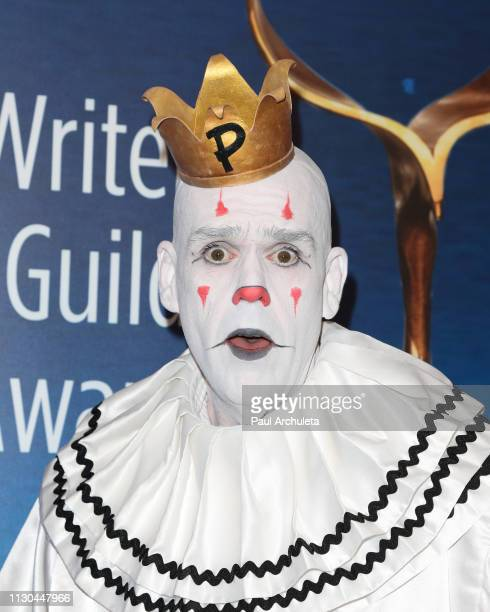 Singer Mike Geier attends the 2019 Writers Guild Awards LA ceremony at The Beverly Hilton Hotel on February 17 2019 in Beverly Hills California