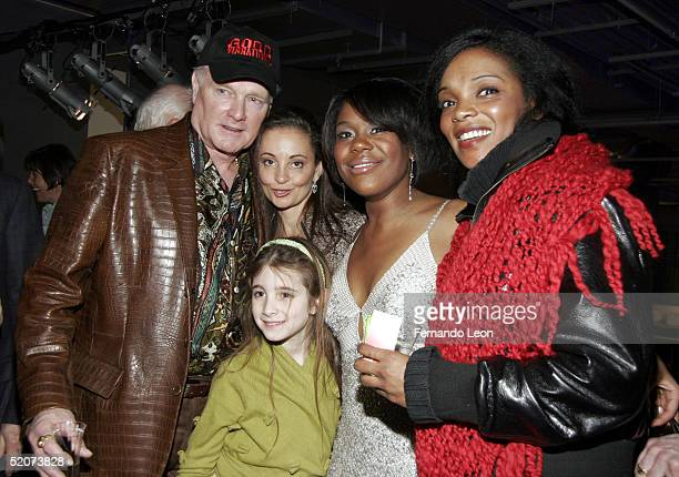 Singer Mike Love his wife Jacqueline Love daughter Ambha actress Tracee Beazer and actress Marlyne Afflack attend the after party for 'Good...