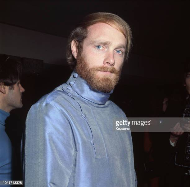 Singer Mike Love of American rock band The Beach Boys during a reception at the Hilton Hotel in London 18th December 1967 The band are there to...