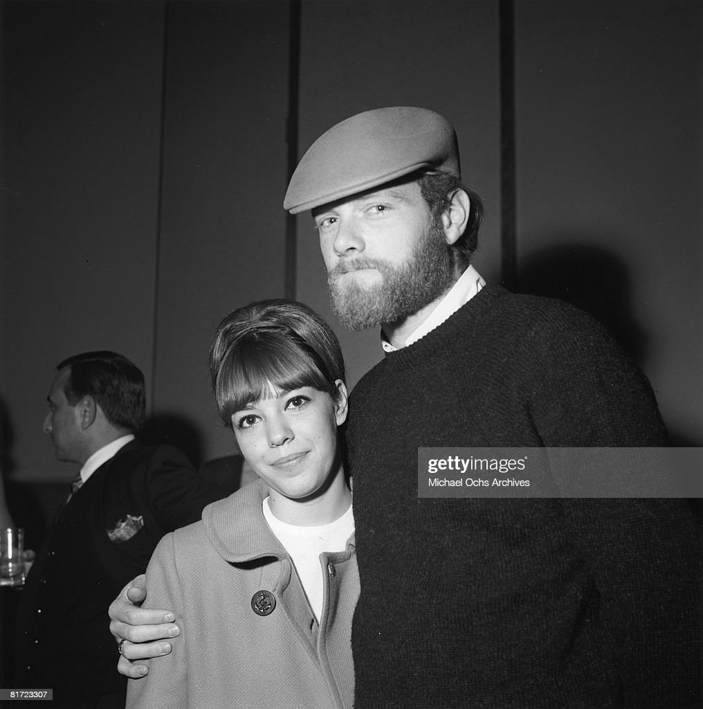 Beach Boys' Singer And His Wife : News Photo