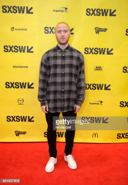 Singer Mike Posner attends 'A Conversation With Mike Posner' during 2017 SXSW Conference and Festivals at Austin Convention Center on March 18 2017...