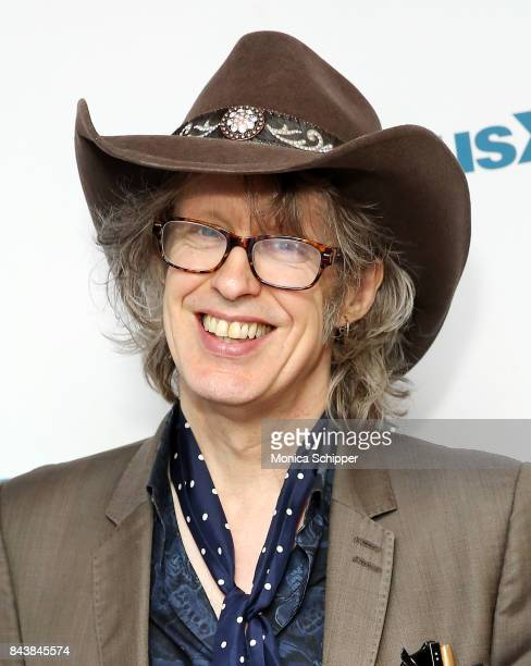 Singer Mike Scott of band The Waterboys visits SiriusXM Studio on September 7 2017 in New York City