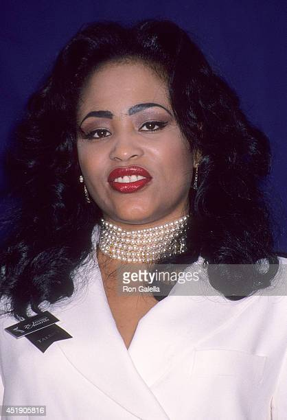 Singer Miki Howard attends the 25th Annual NAACP Image Awards on January 16 1993 at the Pasadena Civic Auditorium in Pasadena California