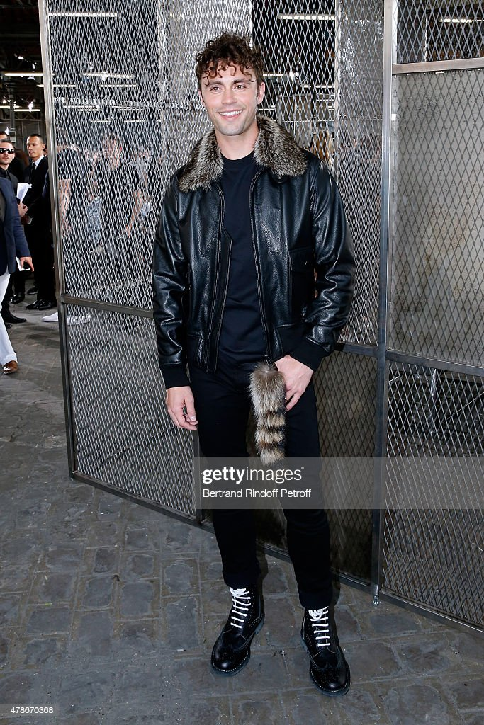 Singer Mikky Ekko attends the Givenchy Menswear Spring/Summer 2016 show as part of Paris Fashion Week on June 26, 2015 in Paris, France.