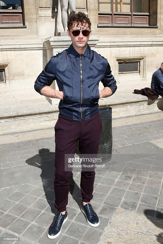 Lanvin : Front Row - Paris Fashion Week - Menswear Spring/Summer 2016