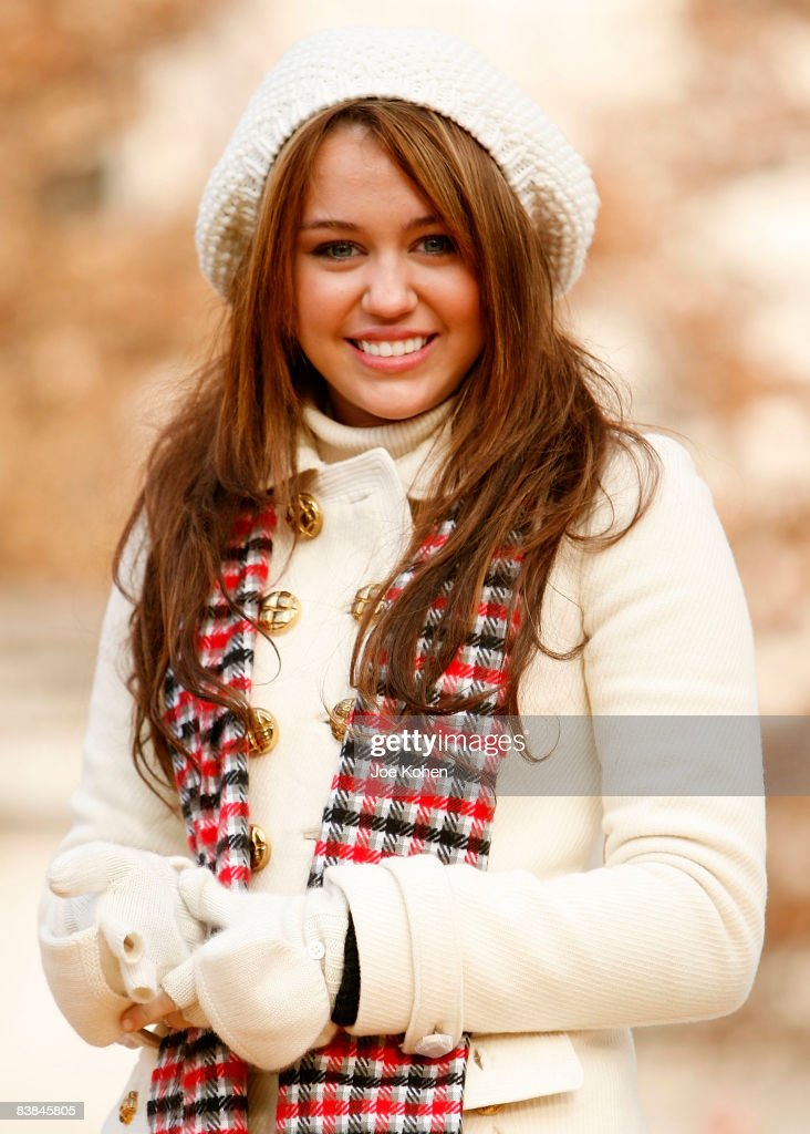 Singer Miley Cyrus attends the 82nd Annual Macy's Thanksgiving Day Parade on the streets of Manhattan on November 27, 2008 in New York City.