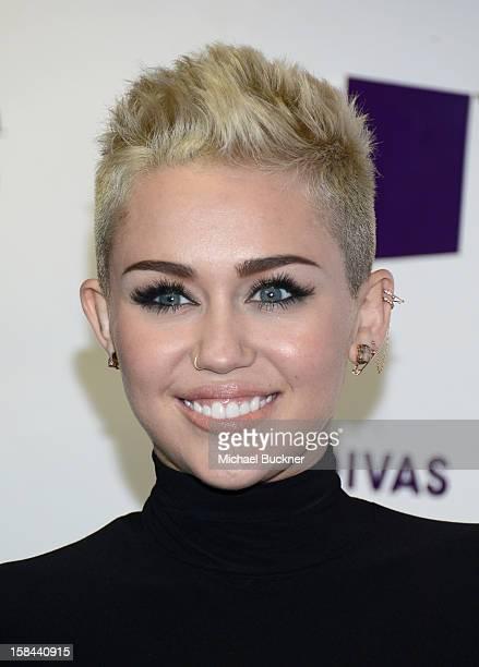 Singer Miley Cyrus attends VH1 Divas 2012 at The Shrine Auditorium on December 16 2012 in Los Angeles California