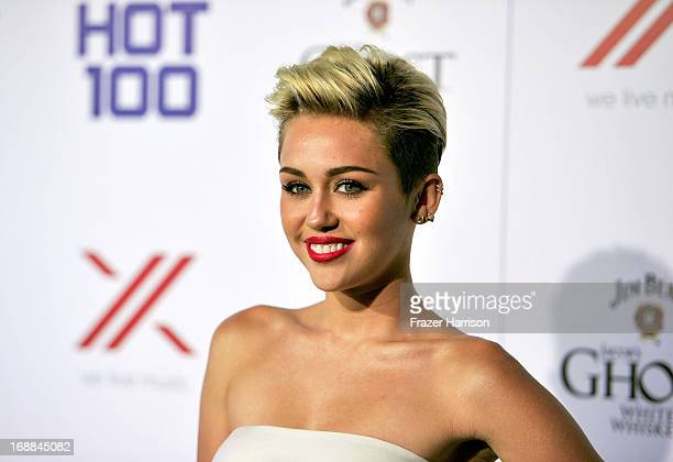 Singer Miley Cyrus HOT 100#1 girl attends the Maxim Hot 100 Party at Create on May 15 2013 in Hollywood California