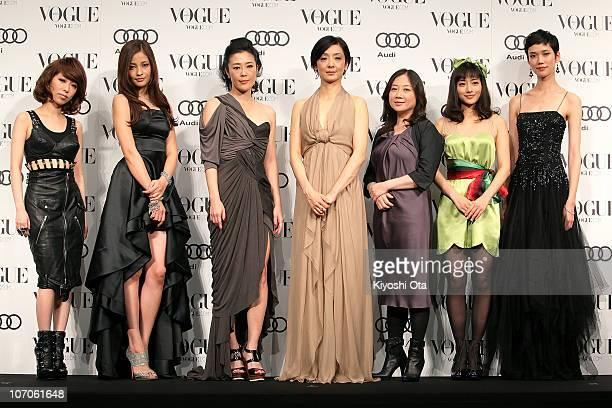 Singer Miliyah Kato actress and model Meisa Kuroki actress Shinobu Terajima actress Tamiyo Kusakari cartoonist Eriko Saibara actress Satomi Ishihara...