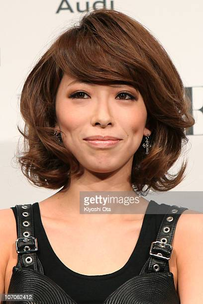 Singer Miliyah Kato attends the 'Vogue Nippon Women of the Year 2010' award ceremony at Grand Hyatt Tokyo on November 22 2010 in Tokyo Japan