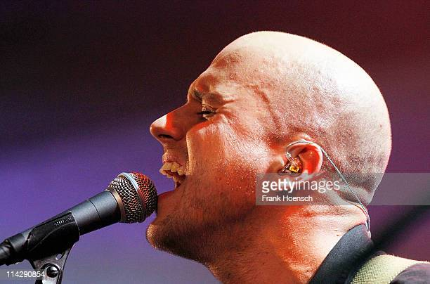 Singer Milow performs live during a concert at the Passionskirche on May 17 2011 in Berlin Germany