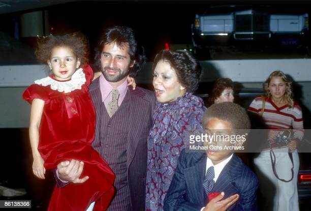 Singer Minnie Riperton her husband Richard Rudolph and children Maya Rudolph and Marc Rudolph attend the Hollywood Christmas Parade in December 1978...