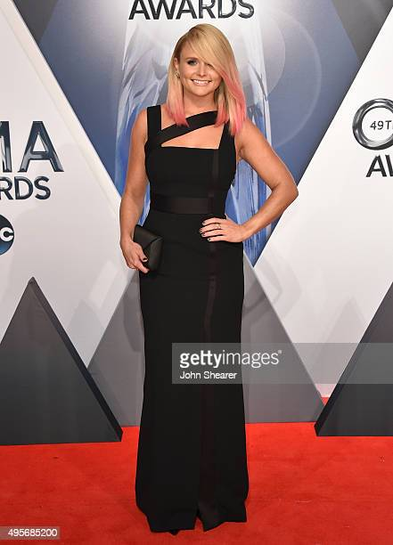 Singer Miranda Lambert attends the 49th annual CMA Awards at the Bridgestone Arena on November 4 2015 in Nashville Tennessee