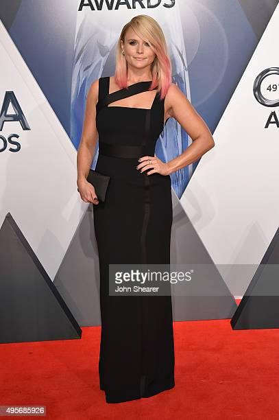 Singer Miranda Lambert attends the 49th annual CMA Awards at the Bridgestone Arena on November 4, 2015 in Nashville, Tennessee.