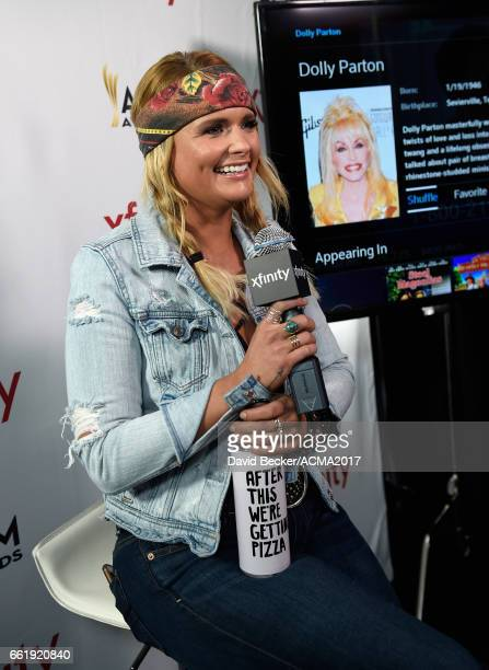 Singer Miranda Lambert attends the 52nd Academy Of Country Music Awards Cumulus/Westwood One Radio Remotes at TMobile Arena on March 31 2017 in Las...