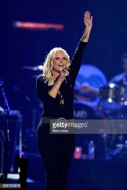 Singer Miranda Lambert performs onstage during the 2016 iHeartCountry Festival at The Frank Erwin Center on April 30 2016 in Austin Texas
