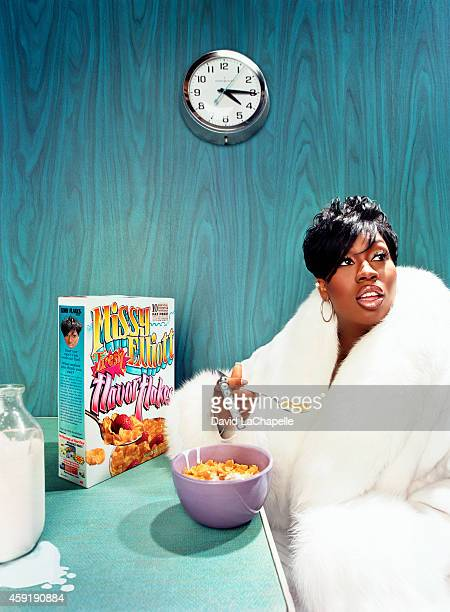 Singer Missy Elliott is photographed for Rolling Stone Magazine in 1999 in New York City PUBLISHED IMAGE