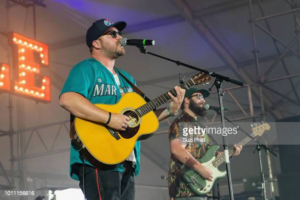 Singer Mitchell Tenpenny performs at Watershed Festival at Gorge Amphitheatre on August 4 2018 in George Washington