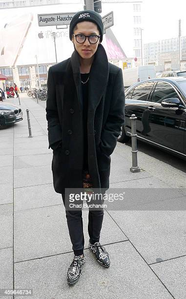 Singer Miyavi sighted at the RitzCarlton hotel on November 27 2014 in Berlin Germany