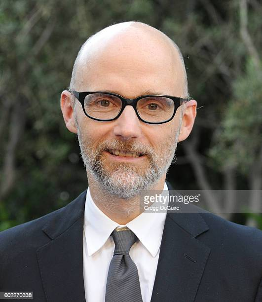 Singer Moby arrives at Mercy For Animals Hidden Heroes Gala 2016 at Vibiana on September 10, 2016 in Los Angeles, California.