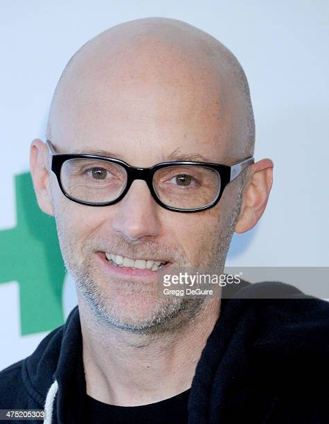 Singer Moby arrives at the Global Green USA's 11th Annual PreOscar Party at Avalon on February 26 2014 in Hollywood California