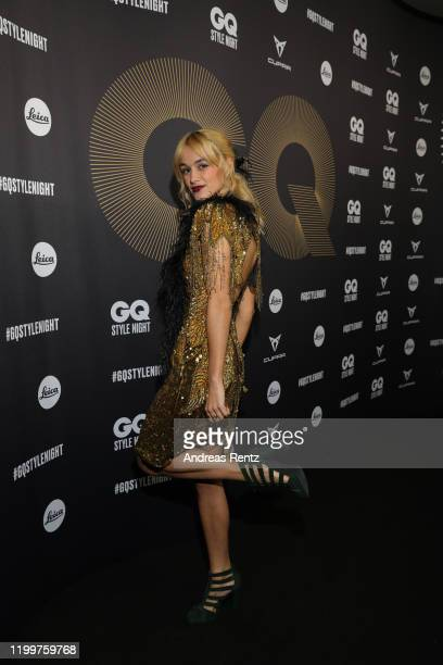 Singer Mogli attends the GQ Style Night during Berlin Fashion Week Autumn/Winter 2020 at BRICKS Berlin on January 15, 2020 in Berlin, Germany.