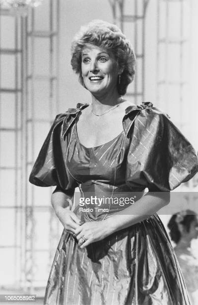 Singer Moira Anderson performing on the television show 'Here Comes the Classics', January 6th 1983.