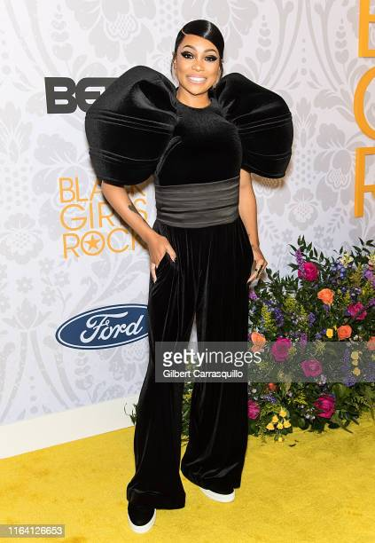 Singer Monica attends 2019 Black Girls Rock! at NJ Performing Arts Center on August 25, 2019 in Newark, New Jersey.