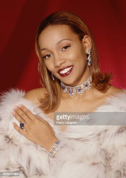 Singer Monica poses for a portrait in 1998 in New York NY