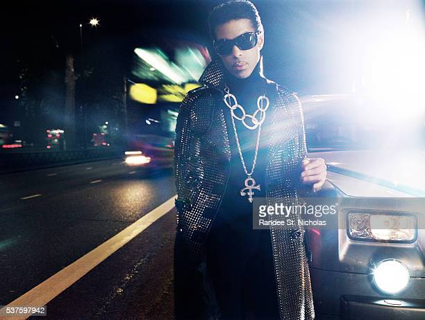 Singer musician and producer Prince poses for portrait session during his 21 Nights Tour in London England **MORE IMAGES AVAILABLE OFFLINE**