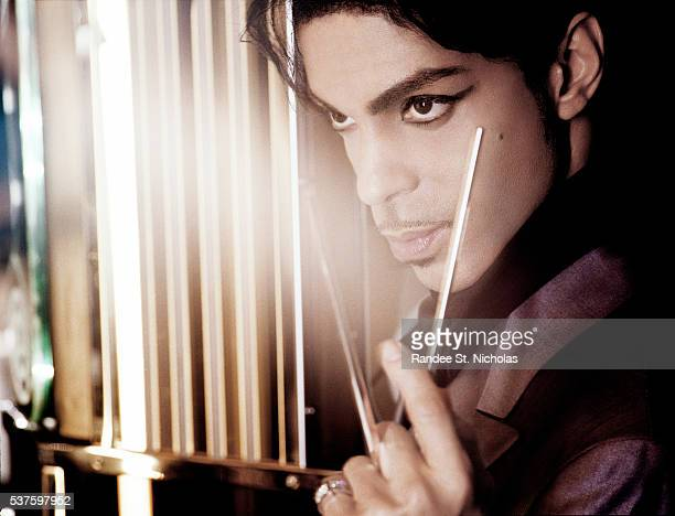Singer, musician and producer Prince poses for portrait session during his 21 Nights Tour in London, England. **MORE IMAGES AVAILABLE OFFLINE**