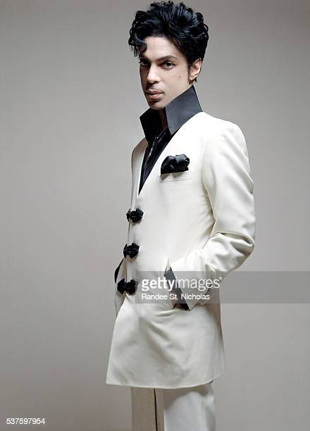 Singer musician and producer Prince poses for portrait session during his residency tour at the Rio in Las Vegas Nevada **MORE IMAGES AVAILABLE...