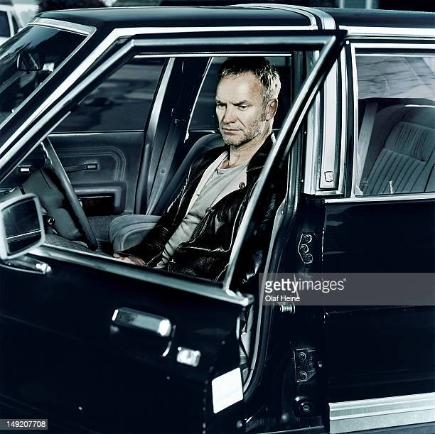 Singer musician and songwriter Sting is photographed on September 6 2003 in Malibu California
