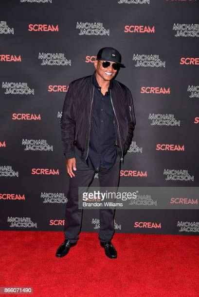 Singer / musician Jackie Jackson attends SCREAM presented by the estate of Michael Jackson and Sony Music Publishing at TCL Chinese 6 Theatres on...