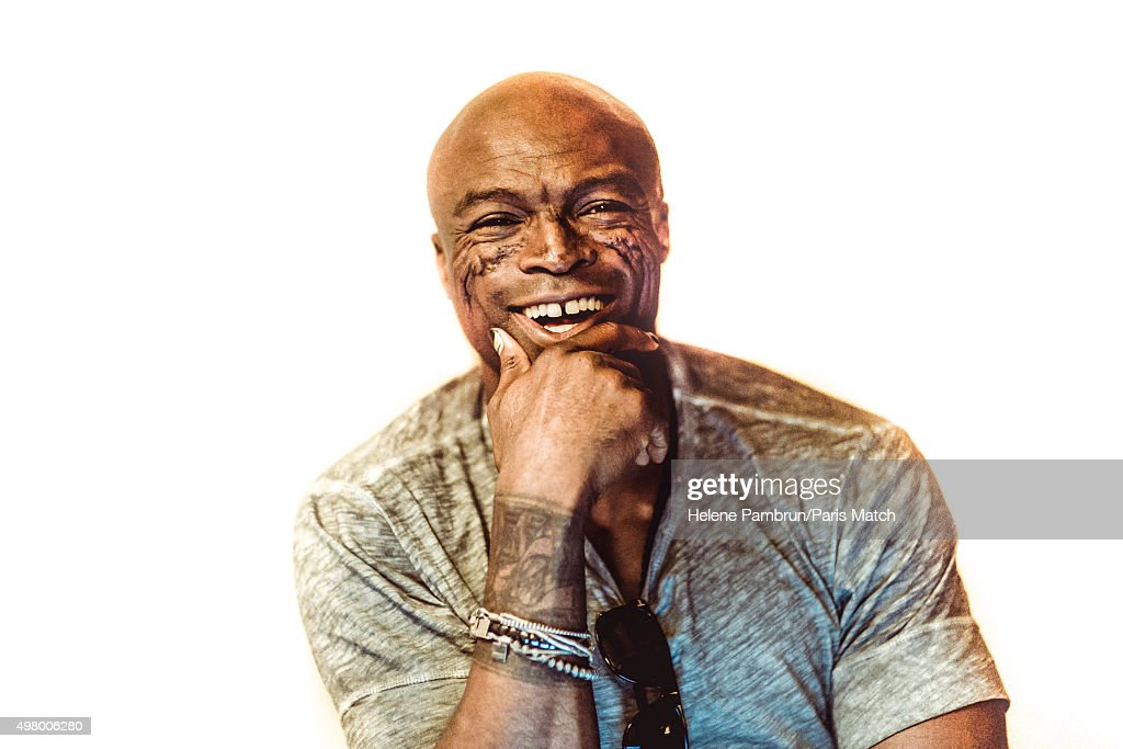 Seal, Paris Match Issue 3470, November 25, 2015